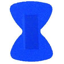 Sinine sõrmeotsa plaaster 1